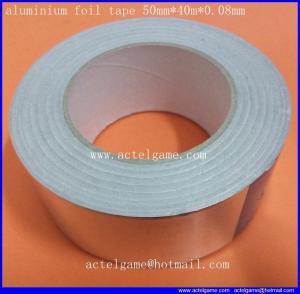 aluminium foil tape 50mm 40m 0.08mm repair parts Manufactures