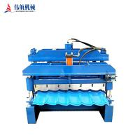 China China Factory Full Automatic Glazed tile roll forming machine on sale