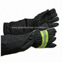 Fire Fighting Gloves with Nomex or Equivalent Outer Material, Flame-resistant, Anti-heat Radiation Manufactures