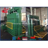 Multi - Function Vertical Tire Baler Machine , 18.5kW Tire Baling Machine Manufactures