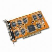 DVR PCI Video Card, Supports PAL/NTSC, Plug-and-Play Function and Audio Monitor Manufactures