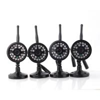 OV lens 4 Camera Wireless Security System With DVR , P2P Wireless DVR Surveillance System Manufactures
