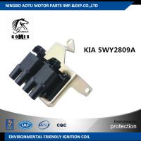 China Car Ignition Coil , KIA 5WY2809A Double Ignition Coil For Auto Ignition System on sale
