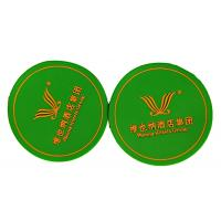 Quality Free Artwork Promotional Gift Giveaways Non Slip Backing Tea Cup PVC Coaster for sale