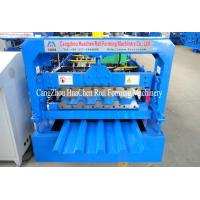 China Standard 686mm IBR Roofing Sheet Roll Forming Machine With PLC Control System on sale