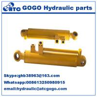 Quality Light duty excavator piston hydraulic cylinder double acting for Machinery and Vehicle for sale