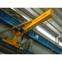 Compacted Frame Wall Traveling Truck Jib Cranes For Fitting & Fabrication Workstation Manufactures
