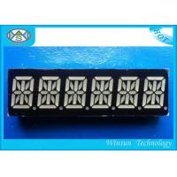 RBGYW Color 0.39 Inch 6 Digit 14 Segment Display For Message Board , 49X15X8 Mm Manufactures