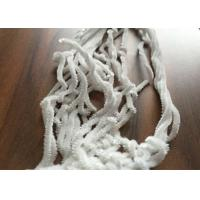 White Polyester Chenille Yarn , 5nm Fancy Knitting Yarn Environment Friendly Manufactures
