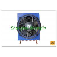 Hot Water Φ12.7mm Copper Tube Air Cooled Heat Exchangers Include Fan Manufactures