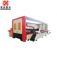 2500w Enclosed Pallet Table Fiber Laser Sheet And Tube Cutting Machine Price GF-1530JHT Manufactures