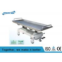 3 Function Hydraulic Stainless Steel Corpse / Cadaver Trolley Manufactures