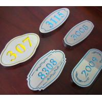 Osign Engraving Sheet ABS Material Full Color For Point - Of - Purchase Displays for sale