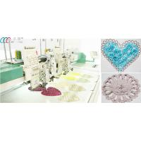 """Dahao 8"""" LCD Mixed Flat / Coiling / Tapping Computerized Embroidery Machine Manufactures"""