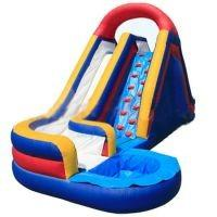 Inflatable Water Slide WS17 with Durable and Reinforced Baffles Manufactures