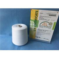China Raw White 12/3 100 PCT Polyester Spun Yarn for Sewing Thread 1.33D× 38mm on sale