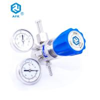 China 0~250Psig Stainless Steel Pressure Regulator , Acetylene Gas Regulator For Gas Laser for sale