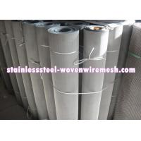 China 250 - 635 Mesh Stainless Steel Wire Cloth , Woven Metal Mesh Anti - Corrosion on sale