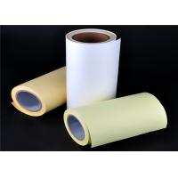 China Double Side Transfer Silicone Release Paper 65g 80g 100g White Yellow Blue on sale