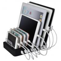 Multi Device Charging Station Dock , 8 Ports USB Iphone Docking Station Multi Function Manufactures