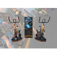 Bike Game VR Exercise Machine , VR Bike Simulator For Racing Club / Exhibition Hall Manufactures
