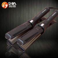 professional electric scissor style hair straightener flat iron for womanSY-9916 Manufactures
