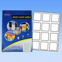A4 Computer Labels/Avery Labels, Used for Lasers and Inkjet Printers, Customized Sizes Accepted Manufactures