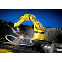 Convenient Robotic Welding Workcell / High Speed Robotic Automation Systems Manufactures