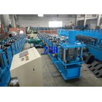 Quality 2 Units Servo Motor Interchangeable Roll Forming Machine For Purlin C / Z 100-300 MM for sale
