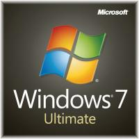 China 1 GB RAM Microsoft Windows 7 Ultimate Retail Box 32/64 bit  for Laptop PC on sale