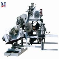 2380 * 1170 * 1760mm Automatic Spring Making Machine For Mattress 1200kg Weight Manufactures