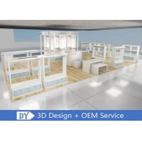 Wooden Lacquer Children'S Store Fixtures / Retail Shop Clothing Display Shelves Manufactures