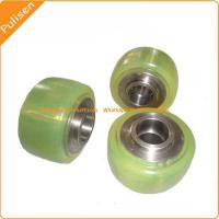 Quality Polyurethane Roller for Hand Pallet Trucks Polyurethane Roller V and U Groove for sale