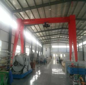 China Materials Handling Equipment Mobile Workshop Gantry Crane for Sale on sale