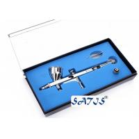 Quality New Dual Action Airbrush and Spray Gun for Makeup Nail Art Tattoos Body Cake Toy Models for sale