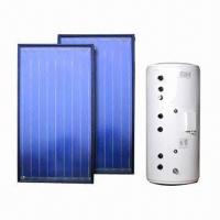 Solar Water Heating System with 300L Tank and Flat Plate Collector  Manufactures