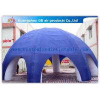 10m Diameter 6 Legs Inflatable Air Tent Party Dome Tent With Air Blower Manufactures