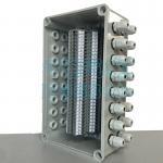 Electrical Enclosure Conduit Junction Box 250*150*200mm with UKK5 Din Rail Terminal Blocks 600V 32A Manufactures