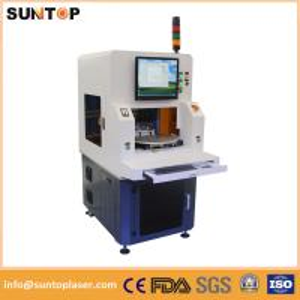 Europe standard design fiber laser marking machine full enclosed type Manufactures