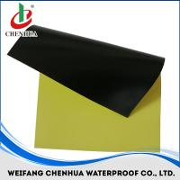 PVC waterproof membrane with fabric thickness 1.2mm-2.0mm all color Manufactures