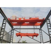 Single Beam Overhead Crane EOT Bridge Crane For Engineering Industries Manufactures