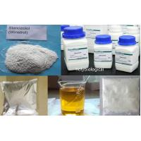 China Muscle Fitness Anabolic Steroids Products CAS 10418-03-8 Stanozolol / Winstrol on sale