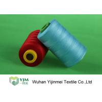 Z Twist / S Twist Industrial Polyester Sewing Thread Dyed Yarn 100% PES High Tenacity Manufactures