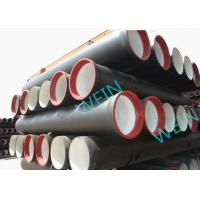 Heat Treatment Ductile Iron Pipe Cement Lined K789 Or C253040 Class 450mm Manufactures