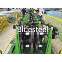 Galvanized Type C / Z Purlin Steel Structure Roof Panel Roll Forming Machine Manufactures