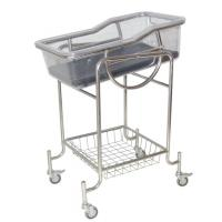 Manual Mobile Baby Tray Pediatric Hospital Beds for Infant Nursing Manufactures