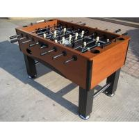 Wooden Football Game Table ABS Player Steel Rod With 120mm Chrome Leveler