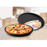 Quality Round Aluminum Cake Mould , Baking Tools Carbon Steel Round Pizza Pan For for sale