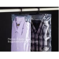 Poly Clear Plastic Hanger Covers Dry Cleaning Bags On Roll For Shirt,Hanger hook