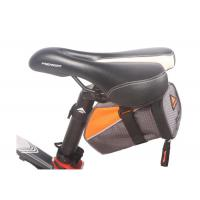 Road Bike Saddle Bag With Reflective Stripe Easy Installation Seatpost Bags For Bicycles Manufactures